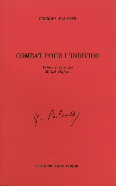 COMBAT POUR L'INDIVIDU