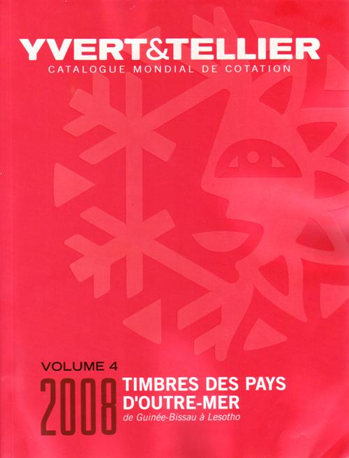 TIMBRES DES PAYS D OUTRE-MER VOLUME 4 DE GUINEE-BISSAU A LESOTHO