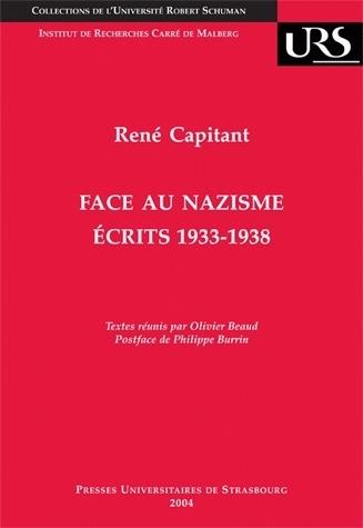 FACE AU NAZISME. ECRITS 1933-1938