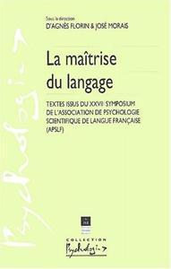 MAITRISE DU LANGUAGE