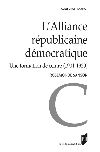 ALLIANCE REPUBLICAINE DEMOCRATIQUE