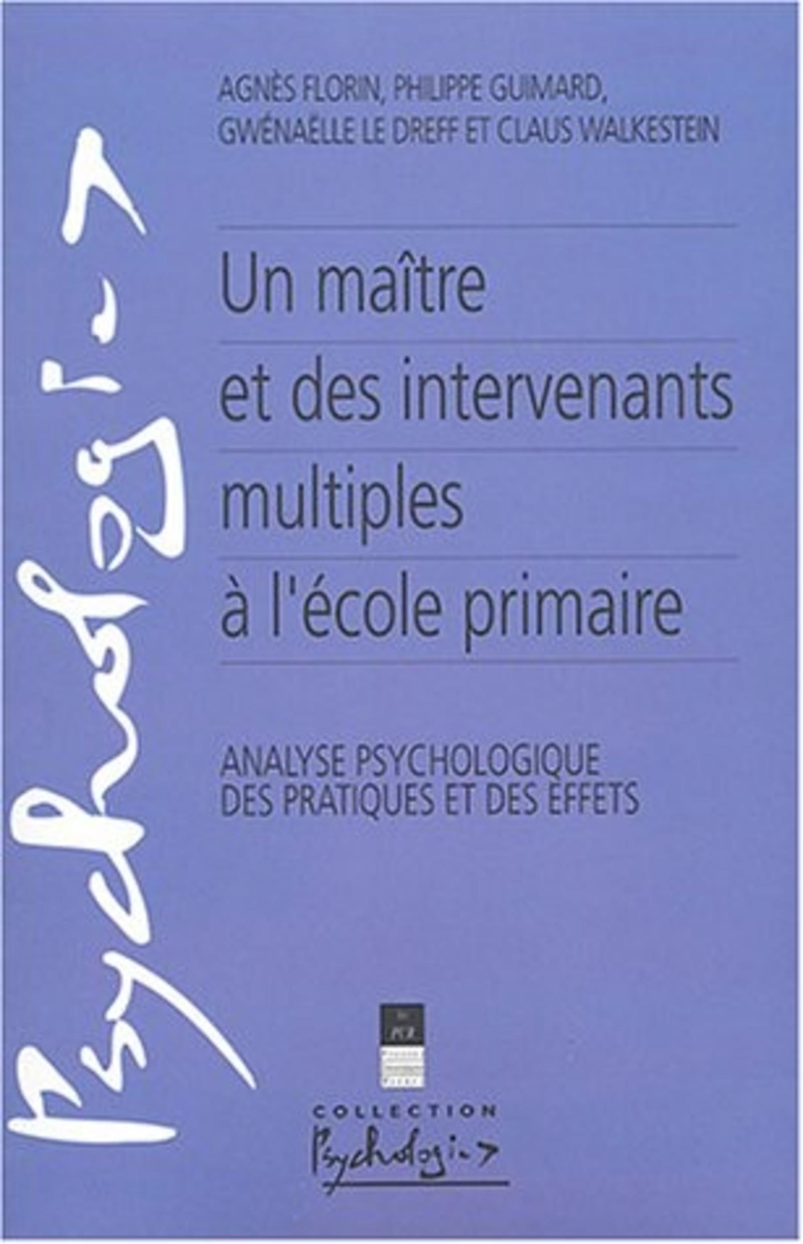 MAITRE ET DES INTERVENANTS MULTIPLES