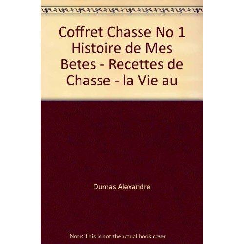 COFFRET CHASSE NO 1 HISTOIRE DE MES BETES - RECETTES DE CHASSE - LA VIE AU