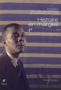 HISTOIRE EN MARGES - LES PERIPHERIES DE L HISTOIRE GLOBALE