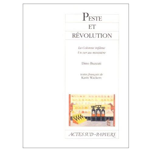 PESTE ET REVOLUTION
