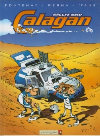 CALAGAN - RALLYE RAID - TOME 01