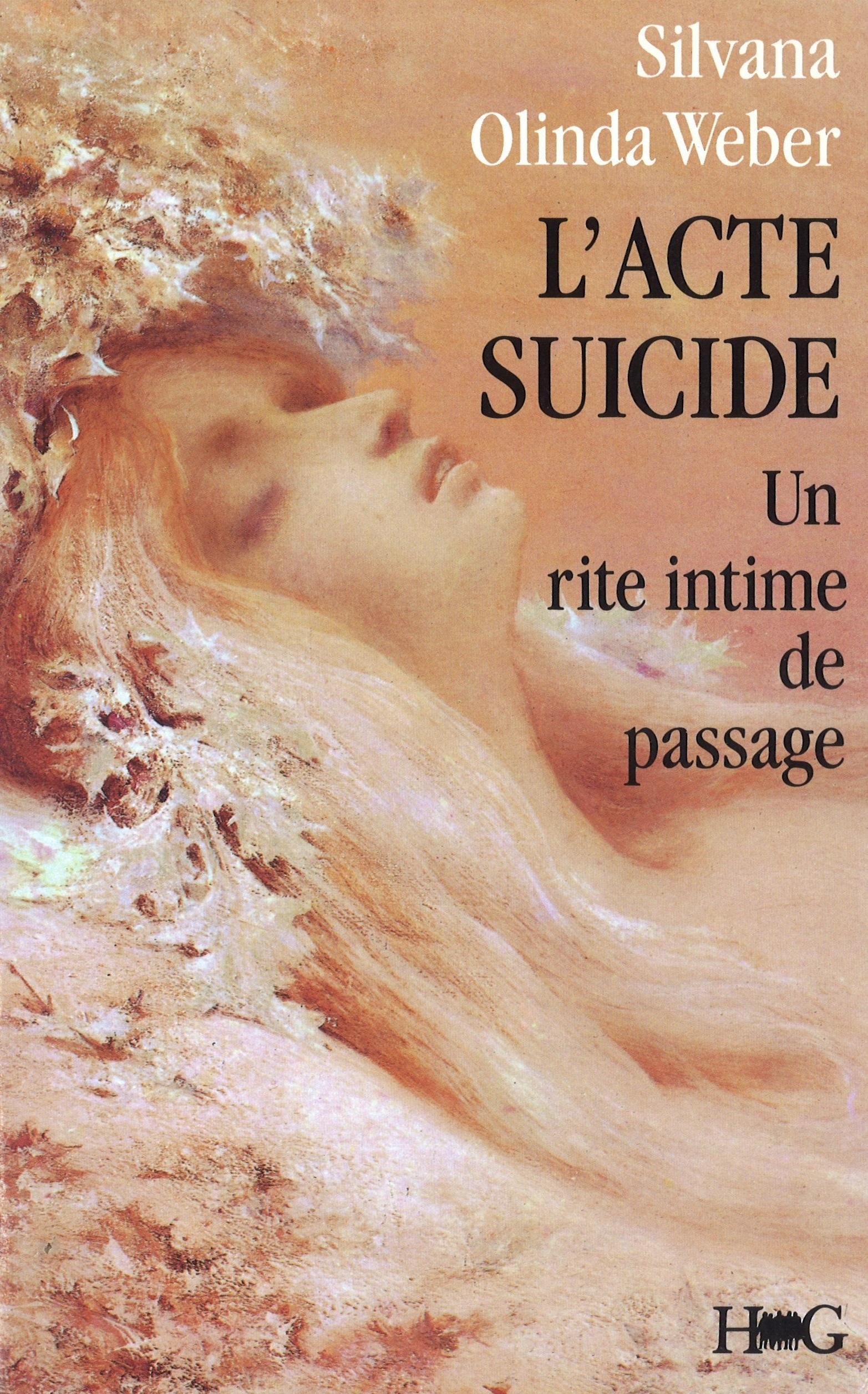 L'ACTE SUICIDE : UN RITE INTIME DE PASSAGE
