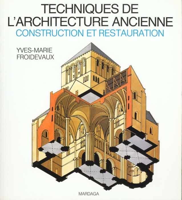 TECHNIQUES DE L ARCHITECTURE ANCIENNE