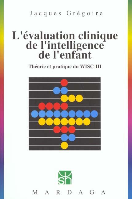 EVALUATION CLINIQUE DE L'INTELLIGENCE DE L'ENFANT N229
