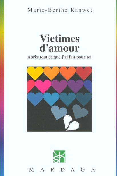 VICTIMES D'AMOUR N243