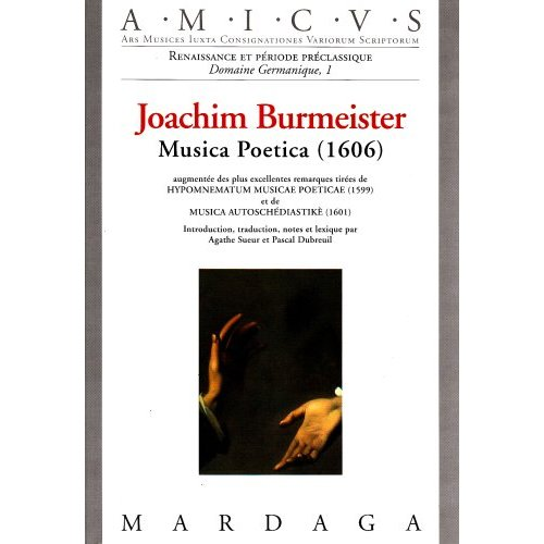 MUSICA POETICA DE BURMEISTER (LA)