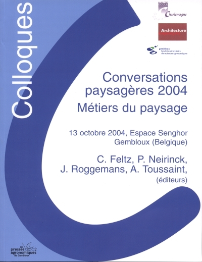 CONVERSATIONS PAYSAGERES 2004