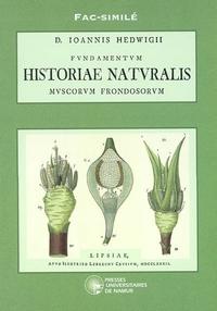 FAC-SIMILE D. IOANNIS HEDWIGII HISTORIAE NATURALIS MUSCORUM FRONDOSORUM