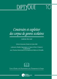 CONSTRUIRE ET EXPLOITER DES CORPUS DE GENRES LITTERAIRES