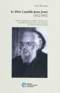 LE PERE CAMILLE-JEAN JOSET (1912-1992)