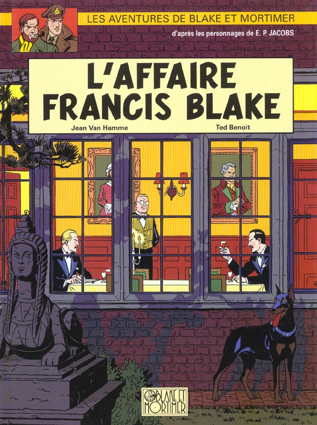 BLAKE ET MORTIMER - T13 - L'AFFAIRE FRANCIS BLAKE