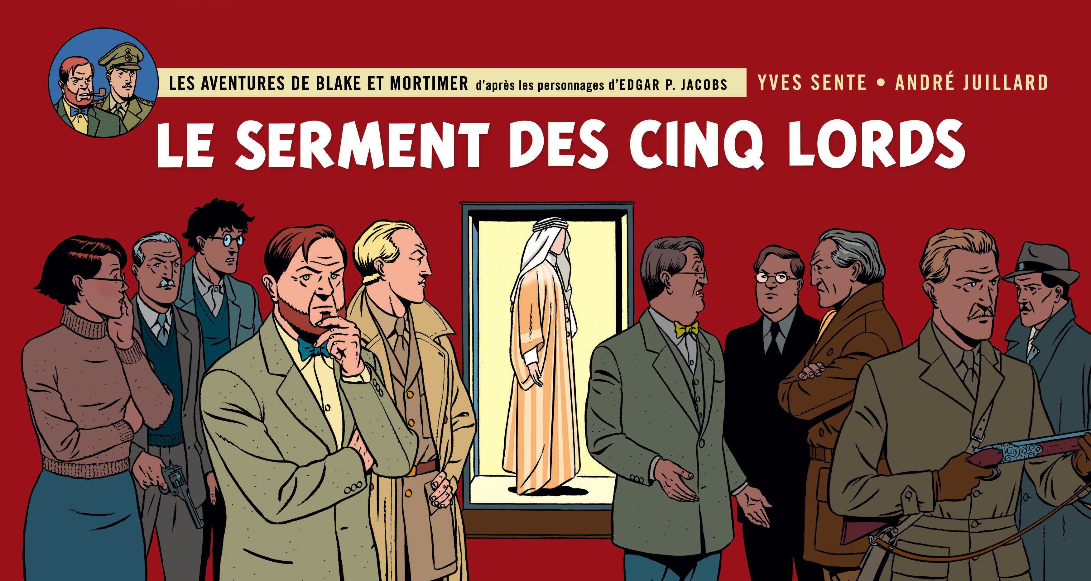 BLAKE ET MORTIMER T21 LE SERMENT DES CINQ LORD VERSION STRIPS