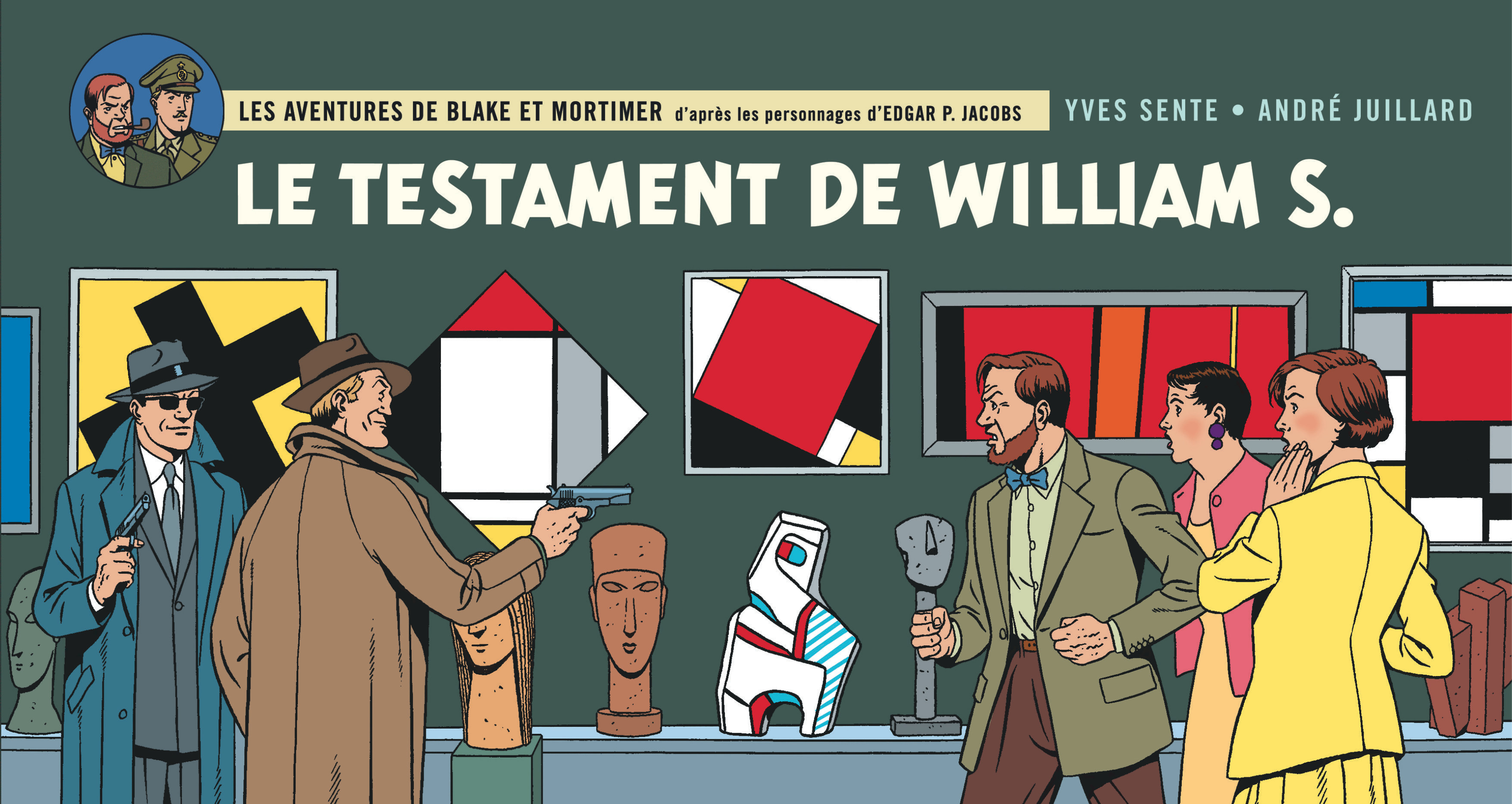 BLAKE ET MORTIMER T24 LE TESTAMENT DE WILLIAM S. - VERSION STRIPS