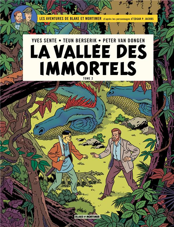 BLAKE ET MORTIMER - BLAKE & MORTIMER - TOME 26 - LA VALLEE DES IMMORTELS - TOME 2 - LE MILLIEME BRAS