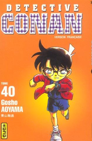DETECTIVE CONAN T40