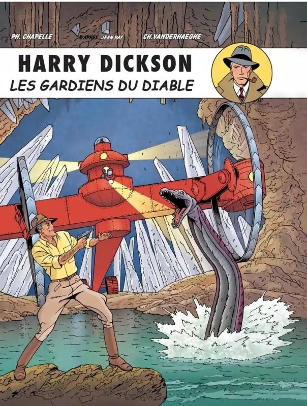 HARRY DICKSON T10 HARRY DICKON T10 GARDIENS DU DIABLE