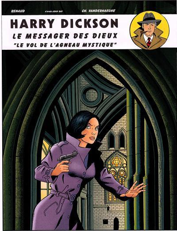 """HARRY DICKSON T11 LE MESSAGER DES DIEUX...""""LE VOL DE L'AGNEAU MYSTIQUE"""""""
