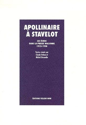 APOLLINAIRE A STAVELOT
