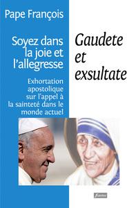 GAUDETE ET EXSULTATE - LA SAINTETE - EXHORTATION APOSTOLIQUE