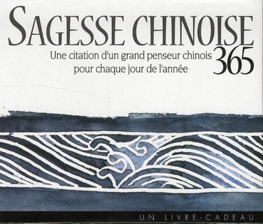 SAGESSE CHINOISE 365