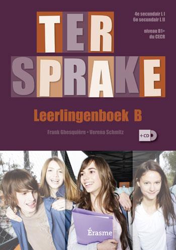 TER SPRAKE B LEERLINGENBOEK CD