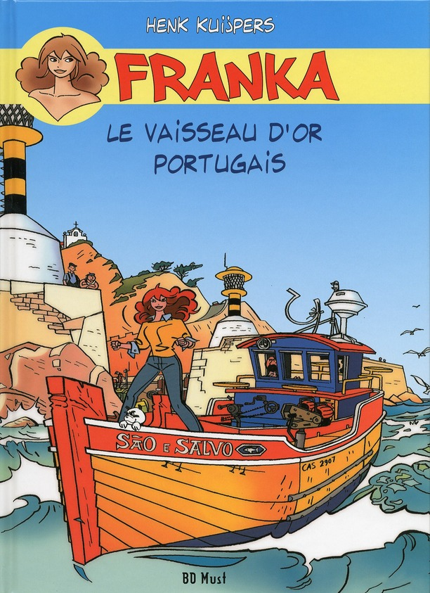 FRANKA LE VAISSEAU D'OR PORTUGAIS