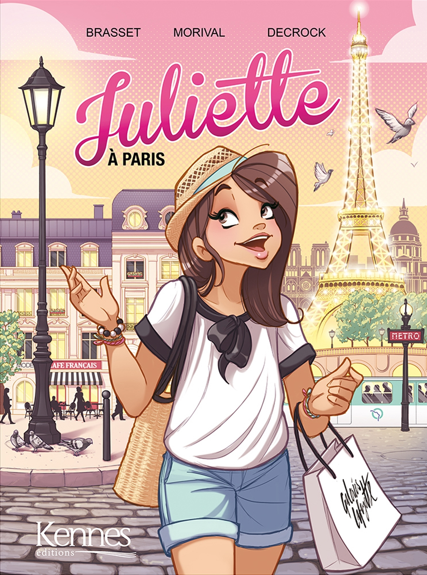 JULIETTE EN BD - JULIETTE A PARIS BD T02