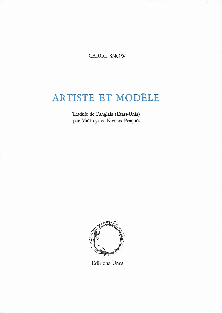 ARTISTE ET MODELE