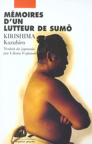 MEMOIRES D'UN LUTTEUR DE SUMO ANCIENNE EDITION