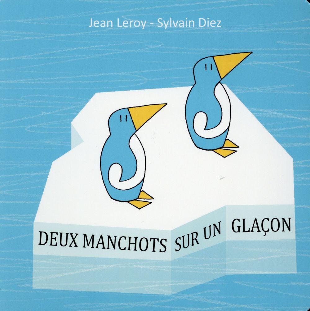 DEUX MANCHOTS SUR UN GLACON