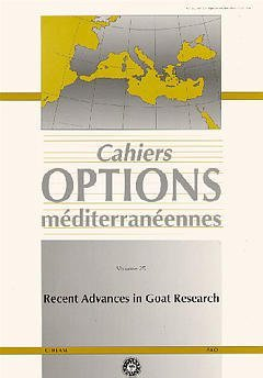 RECENT ADVANCES IN GOAT RESEARCH CAHIERS OPTIONS MEDITERRANEENNES VOL 25 1997