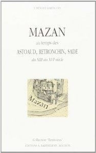 MAZAN AU TEMPS DES ASTOUAUD ...
