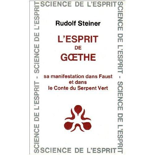 ESPRIT DE GOETHE