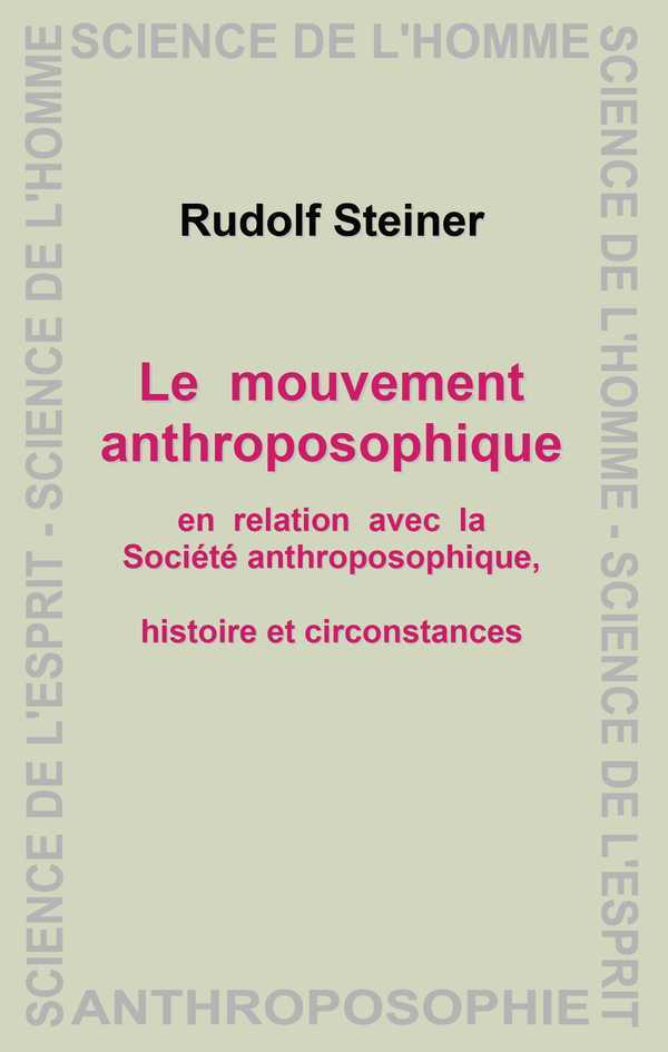 LE MOUVEMENT ANTHROPOSOPHIQUE