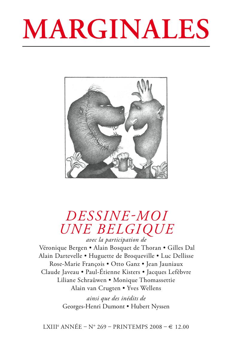 MARGINALES 269 DESSINE-MOI UNE BELGIQUE
