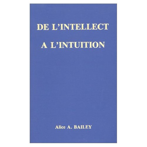 INTELLECT A L'INTUITION (DE L')