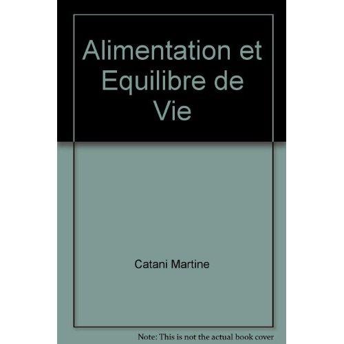 ALIMENTATION ET EQUILIBRE DE VIE