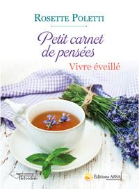 PETIT CARNET DE PENSEES VIVRE EVEILLE