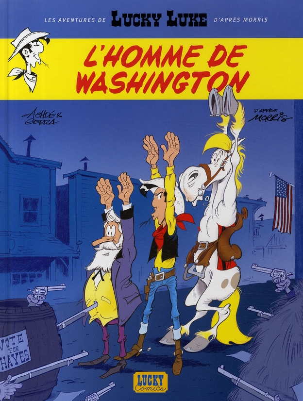 NLLES AVENT LUCKY LUKE T3 L'HOMME DE WASHINGTON