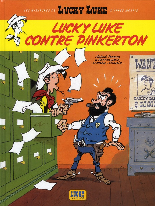NLLES AVENT LUCKY LUKE - LUCKY LUKE CONTRE PINKERTON T4