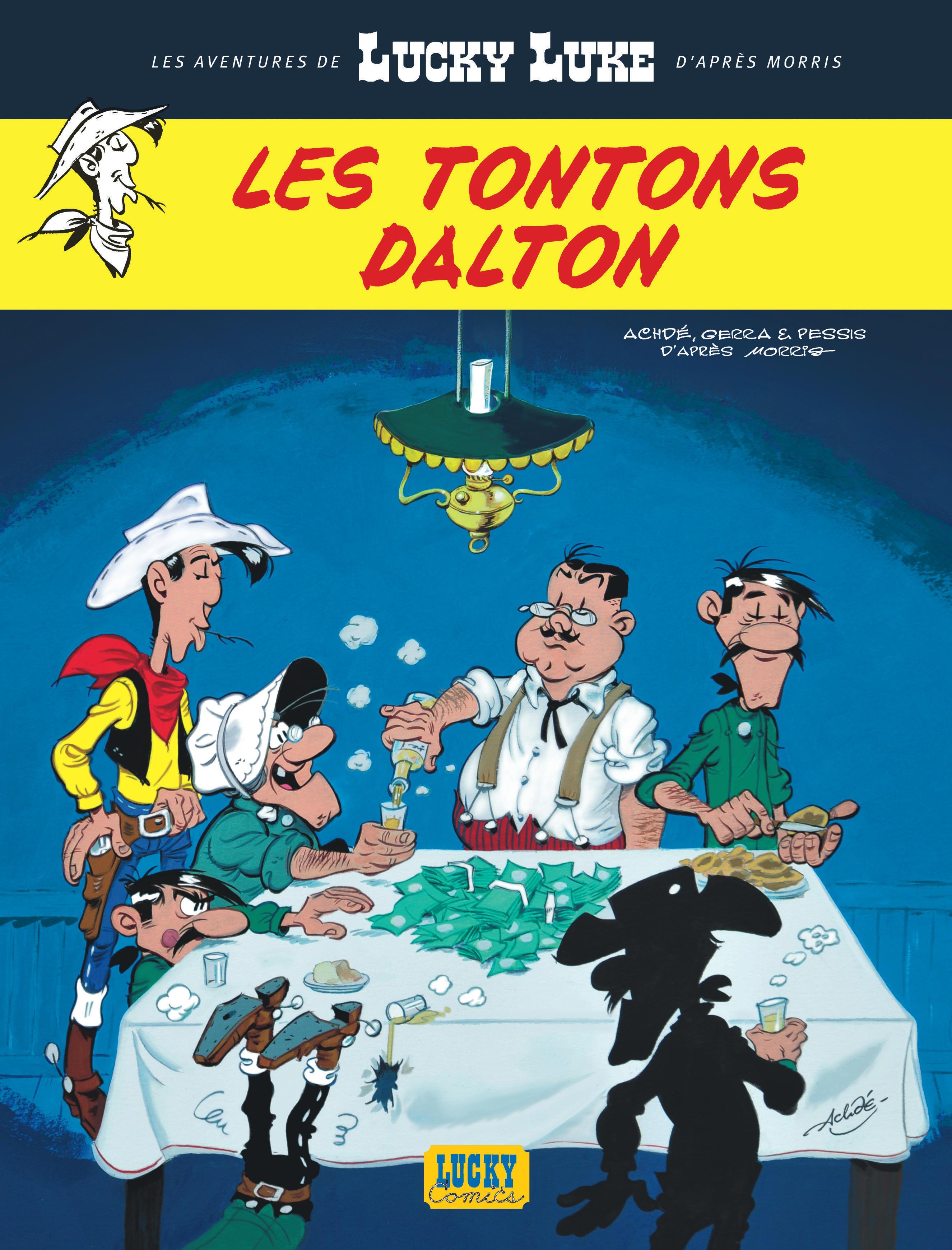 LES TONTONS DALTON T6 - NLLES AVENT LUCKY LUKE