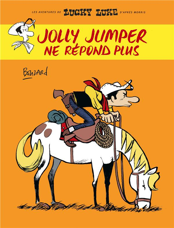HORS COLLECTION LUCKY LUKE JOLLY JUMPER NE REPOND PLUS