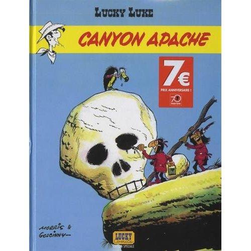 CANYON APACHE-OP 70 ANS - LUCKY LUKE - T6