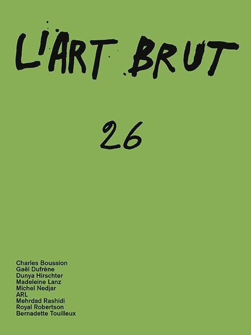 L'ART BRUT 26