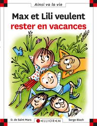 MAX ET LILI VEULENT RESTER EN VACANCES N.118